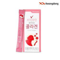 광동생활건강 브이라인 보이는콜라겐(14포x2박스)