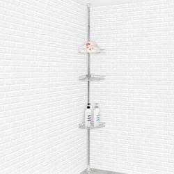 다미 H-기둥식 욕실코너선반 3단