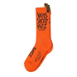 BVSC SKATE SOCKS ORANGE
