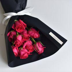 핑크 장미 꽃다발 축하선물 생일 꽃다발