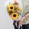 해바라기 꽃다발 선물 생일꽃다발