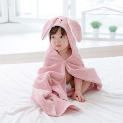 아기목욕가운 - 래빗(비치타올 샤워가운)