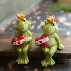 JD3-017 사랑 연인 개구리 2p 인형 (A)