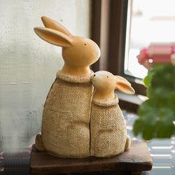JD3-019  빈티지 토끼 장식인형