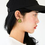 SAY SMILE B EARRING HS (YELLOW)