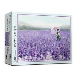 500피스 라벤더 밭의 추억 직소퍼즐 PL861