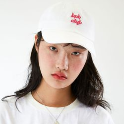 BPB CLUB LOGO CAP HS (WHITE)