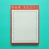 Heavy Memopad - YOUTH (Limited. Gold)