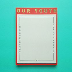 Heavy Memopad - YOUTH (Limited. Gold)