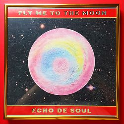 Fly Me To The Moon Retro Poster (Limited Edition)