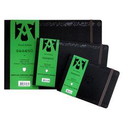 아르쉬 트래블북 양장하드커버 300g 중목 A4