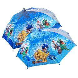 공룡메카드 트리케라와티라노 반자동 우산 53 (랜덤)