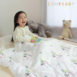 [CONY]꿀잠일체형낮잠이불세트(여우)