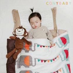[CONY]꿀잠일체형낮잠이불세트(코끼리)