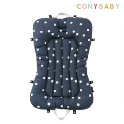 [CONY]순면휴대용아기침대(챠콜)
