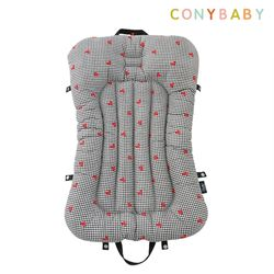 [CONY]순면휴대용아기침대(하트)