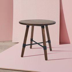 바빌론-원목 테이블식탁(원형)(2종색상)