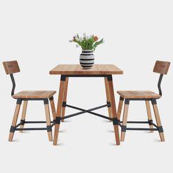 바빌론-원목 테이블식탁(사각)(2종색상)