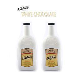 화이트 초콜렛 소스 2.6kg (2L) 2개