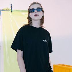 [N] Basic logo tshirt-black