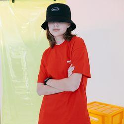 [N] Basic logo tshirt-red