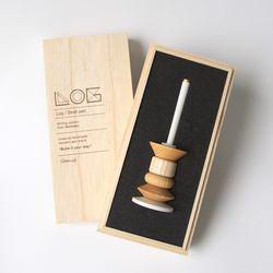 Desk Pen(Wood ornament) 데스크 펜(우드 오너먼트)