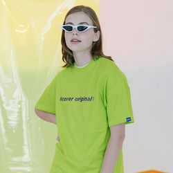 [N] Full name logo tshirt-lime