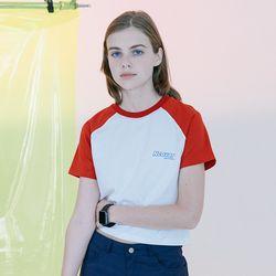 [N] Signature logo tshirt-red