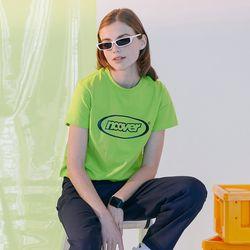 [N] Summer logo tshirt-lime