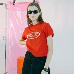 [N] Summer logo tshirt-red