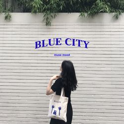blue city 에코백