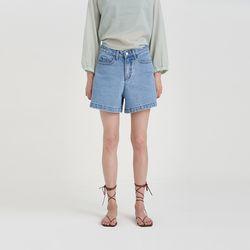 standard short denim pants (2colors)