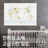 [유니크]세계지도 포스터 스티커 뮤럴 화이트