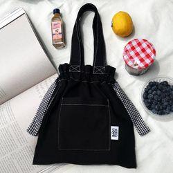 Black Check Bag (버킷백)