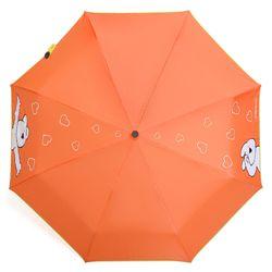 오버액션토끼 완자 오버하트 우산 (오렌지)