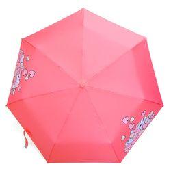 오버액션토끼 3단 만땅하트 우산 (핑크)