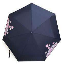 오버액션토끼 3단 만땅하트 우산 (네이비)