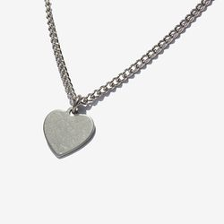 Casual Heart Necklace 캐주얼 하트목걸이