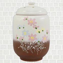 황토 쌀항아리 투톤코스모스 쌀독 용량20kg CH1398834