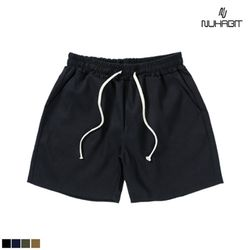 [A14] 뉴해빗 - Cotton Basic Short Pants - 네이비