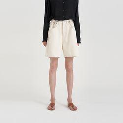 free button half pants (2colors)