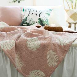 몰디브 3중직자가드 홑이불 핑크