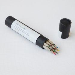 색연필 12개 12 COLOR PENCIL