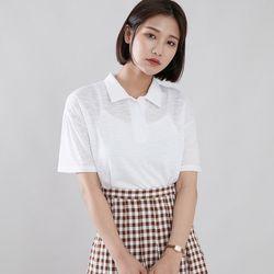 [로코식스] 모닝 카라 티셔츠