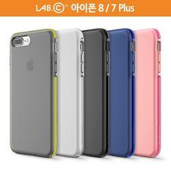 랩씨 아이폰 8 7 플러스 슬림 실리콘 범퍼 케이스