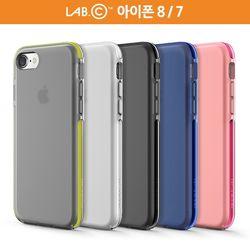 랩씨 아이폰 8 7 슬림 Bold 실리콘 범퍼 케이스