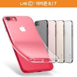 랩씨 아이폰 8 7슬림 소프트 투명 케이스