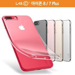 랩씨 아이폰 8 7 플러스 슬림 소프트 투명 케이스