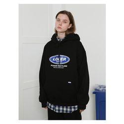 [예약판매 10/1 발송] [L] Twofold recycle hoodie-black