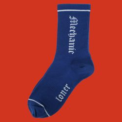 [L] MECHANIC SOCKS-BLUE